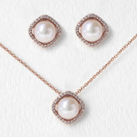 Perla Classic Jewelry Set - Amy O. Bridal