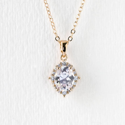 Cleo Crystal Pendant Necklace