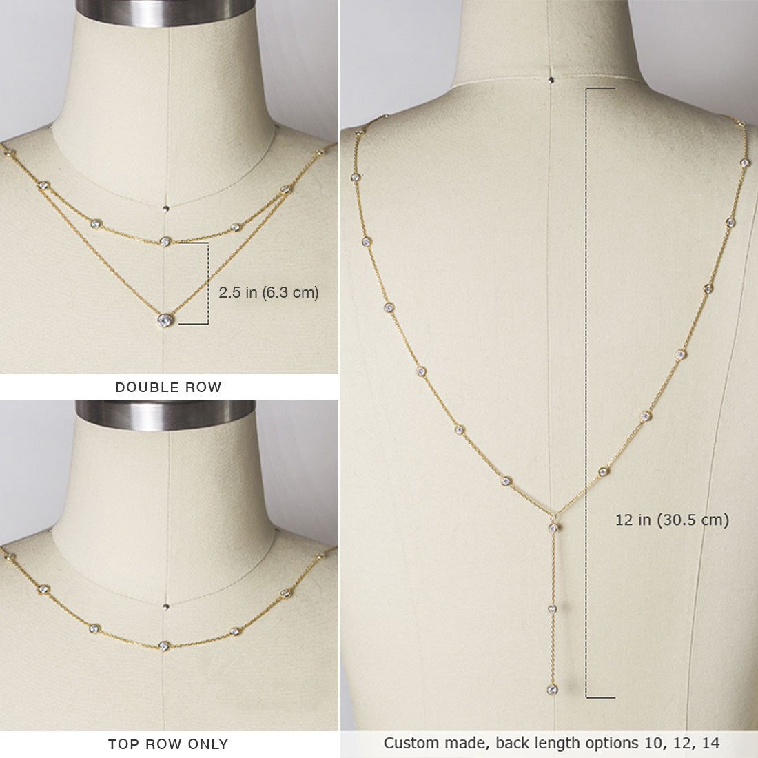 Dakota Y Lariat Backdrop Necklace
