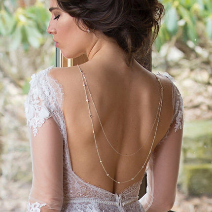 Dakota U Drape Back Necklace