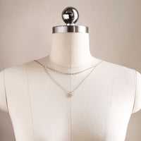 Lacey U Drape Back Necklace