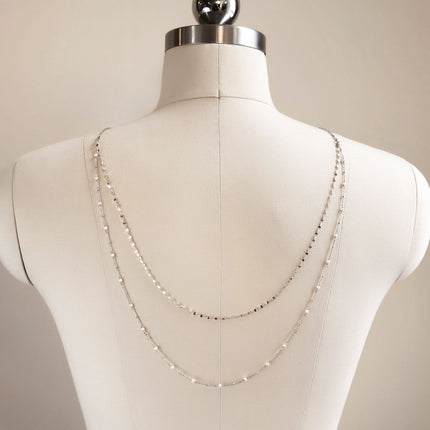 Pearl U-Back Necklace