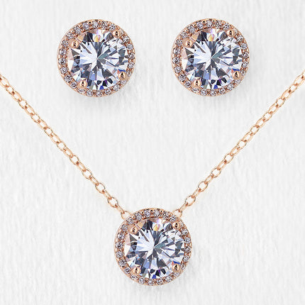 Sophia Round Jewelry Set