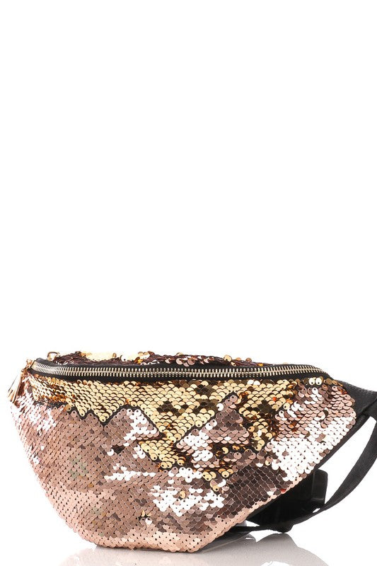 All that Glitters Sequin Fanny Pack - Madison and Mallory