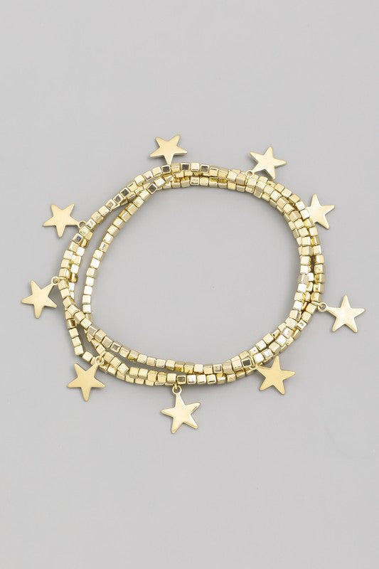 Star-Crossed Beaded Bracelet - Madison and Mallory