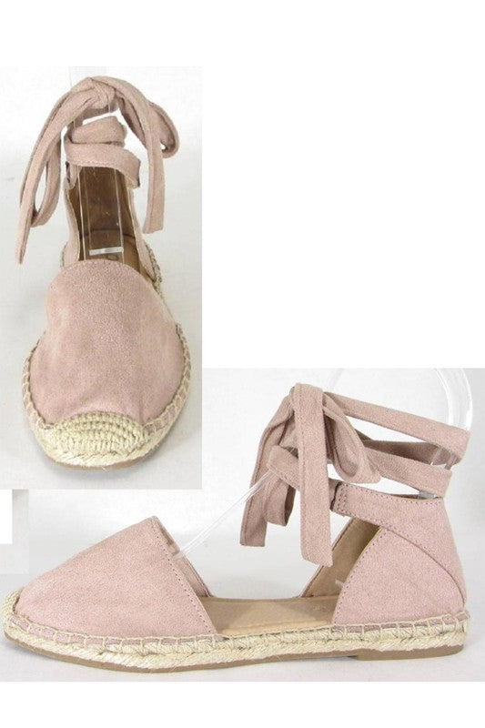 Ankle Wrap Espadrilles - FINAL SALE - Madison + Mallory