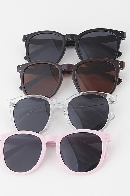 Sky High Round Sunglasses - Madison and Mallory