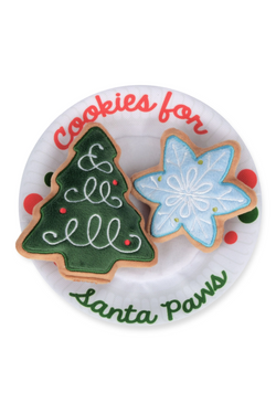 Cookies Cookies for Santa Paws Dog Toy - Madison and Mallory