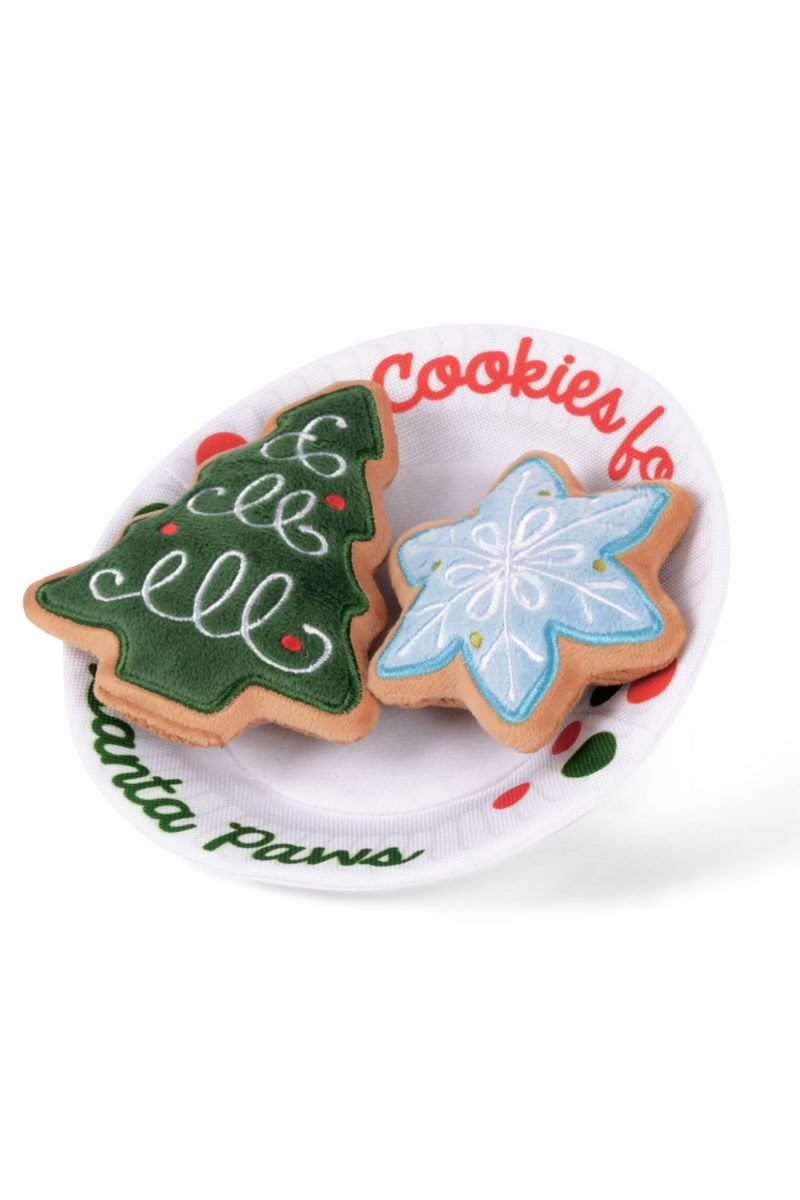 Cookies for Santa Paws Dog Toy - Madison and Mallory
