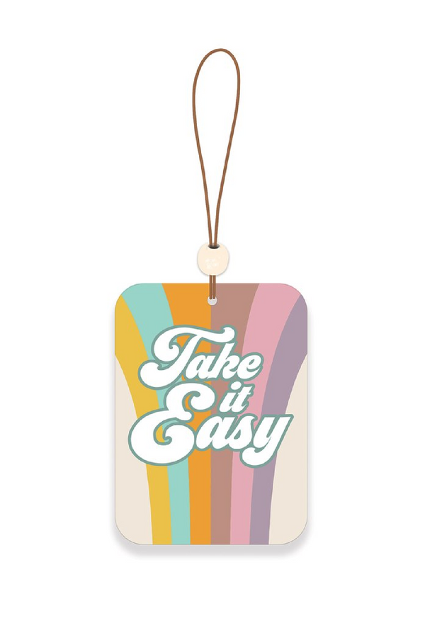 Take it Easy Take It Easy Car Air Freshener - Madison and Mallory