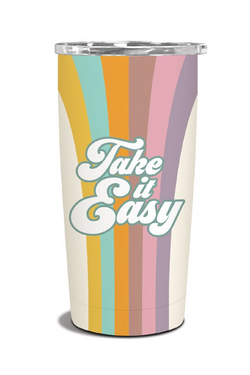 Take it Easy Take It Easy Insulated Stainless Steel Tumbler - Madison and Mallory