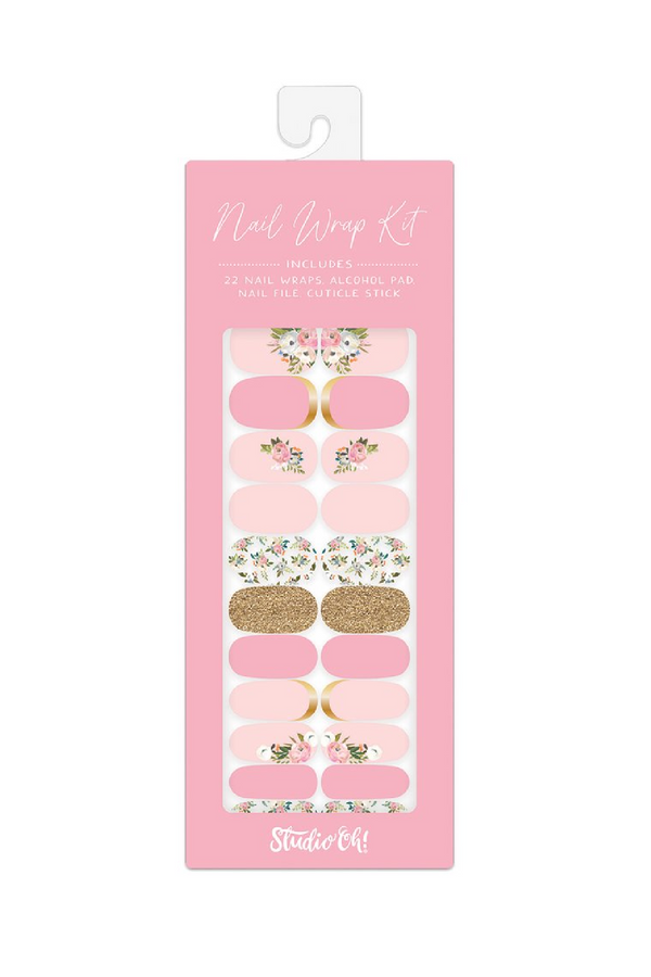 Bella Flora Bella Flora Nail Wrap Kit - Madison and Mallory