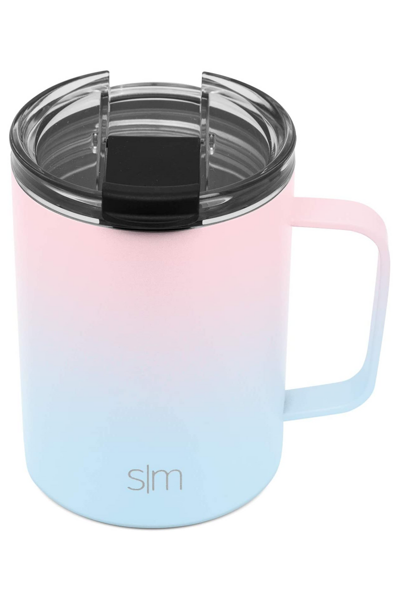 12oz. / Sweet Taffy Simple Modern Scout Coffee Mug with Clear Flip Lid - 12oz - Madison and Mallory