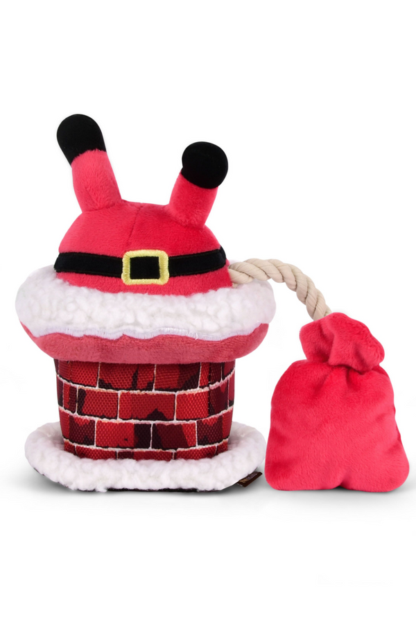 Santa Clumsy Claus Dog Toy - Madison and Mallory