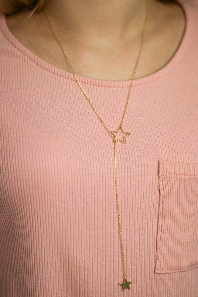 Let me be Your Star Necklace - Madison + Mallory