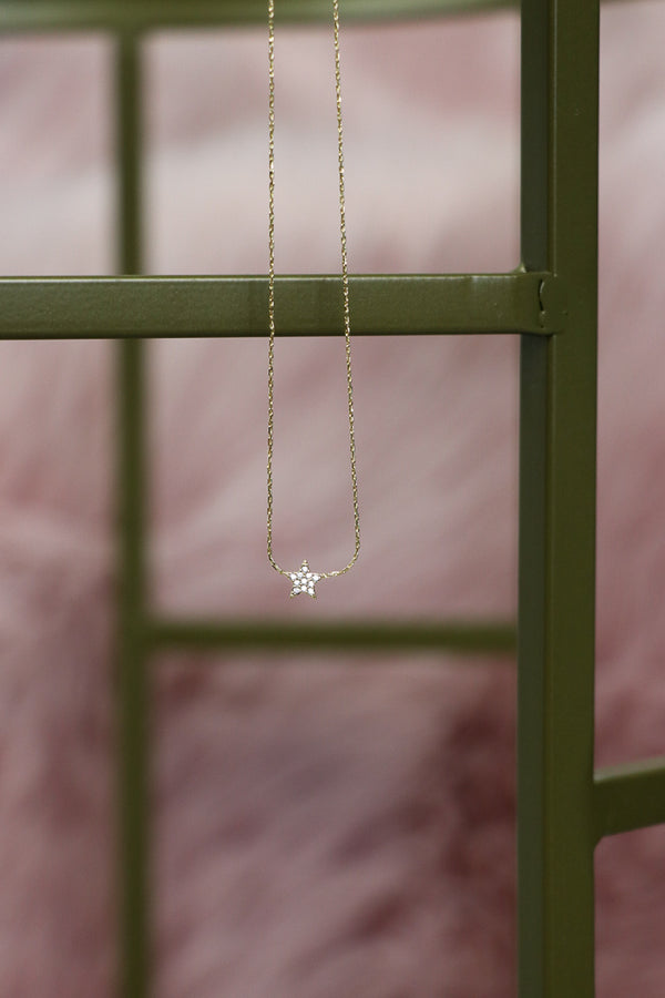 Delicate Star Necklace - Madison + Mallory