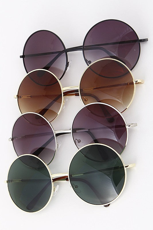 End Scene Round Sunglasses + MORE COLORS - Madison + Mallory
