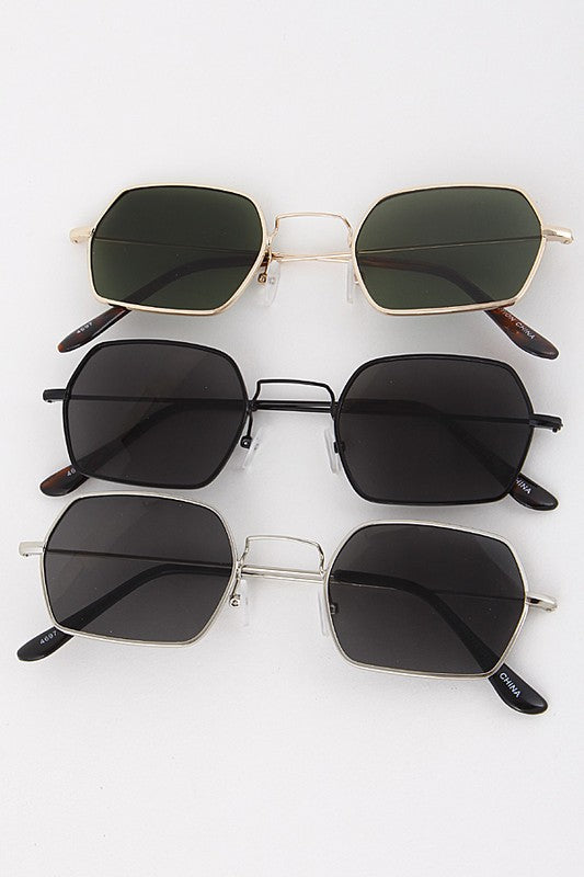 Squared Away Sunglasses + MORE COLORS - FINAL SALE - Madison + Mallory
