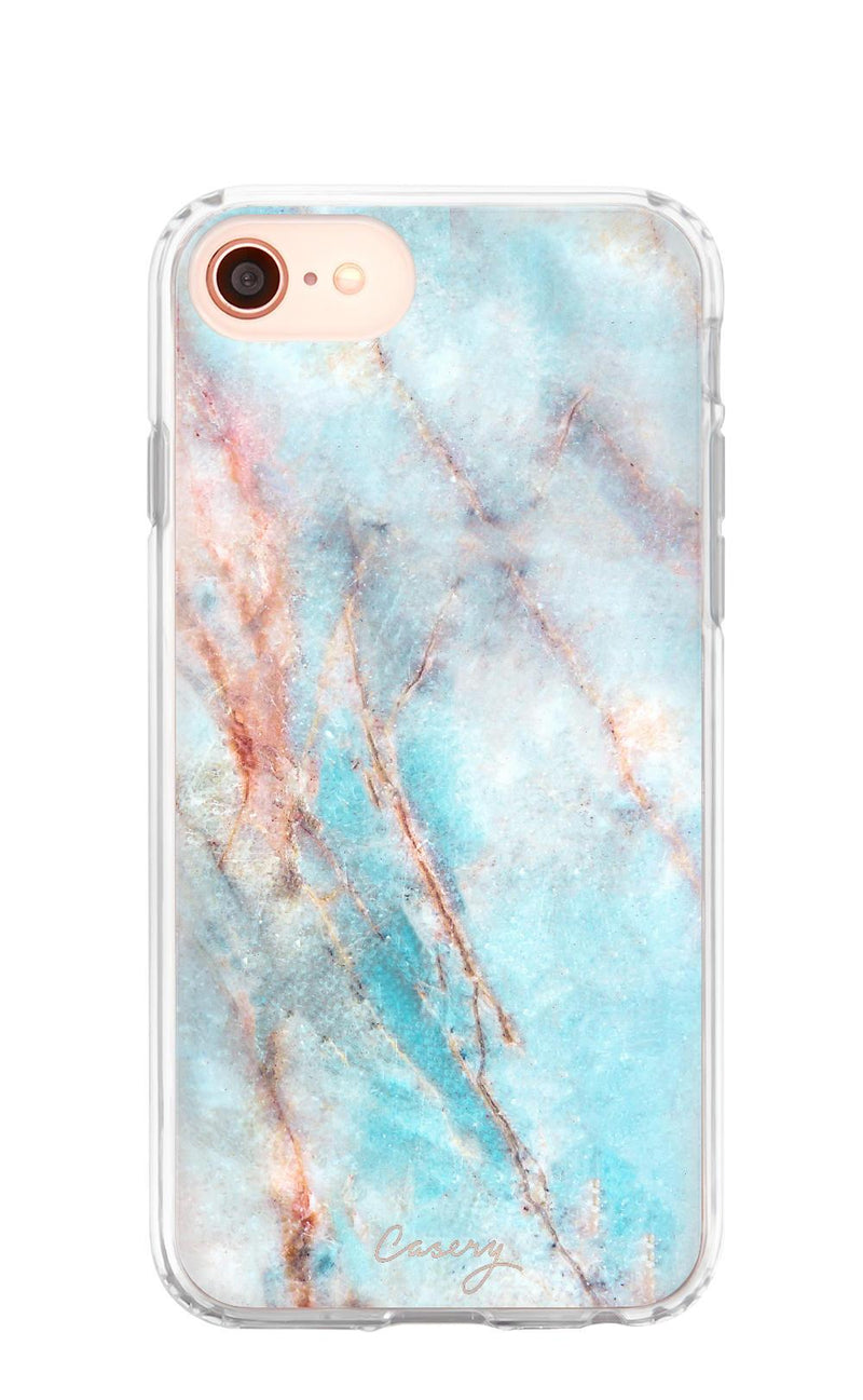 6/6s/7/8 Frosty Marble iPhone Case - Madison + Mallory