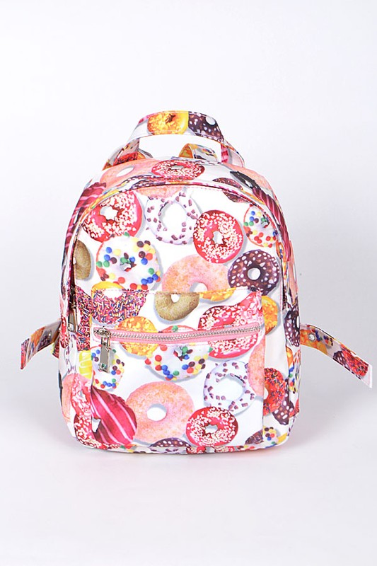 Sprinkled Donuts Backpack - Madison + Mallory