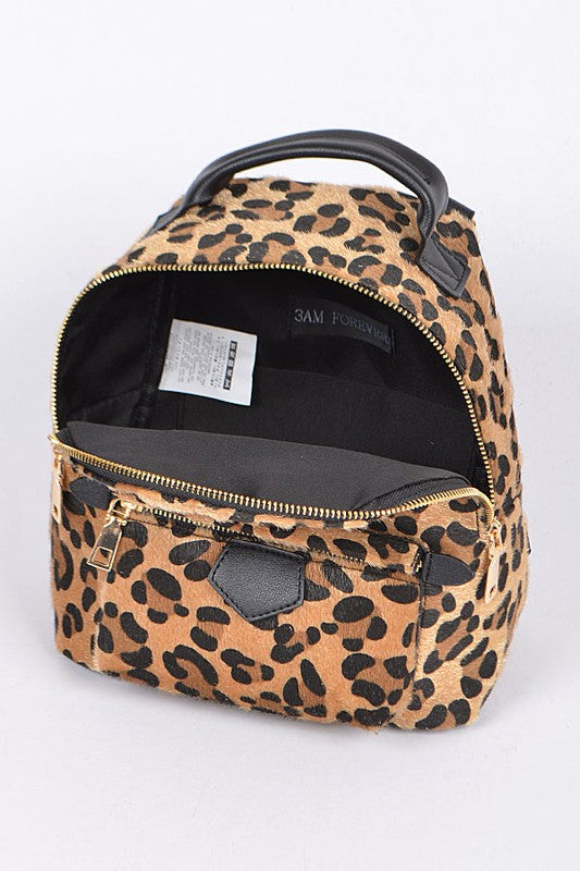 Take Me Out Leopard Backpack - Madison + Mallory