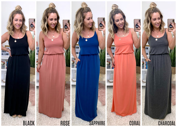 Annora Maxi Dress - Madison + Mallory