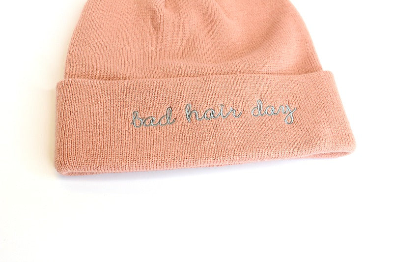 Bad Hair Day Knit Beanie + MORE COLORS - Madison + Mallory