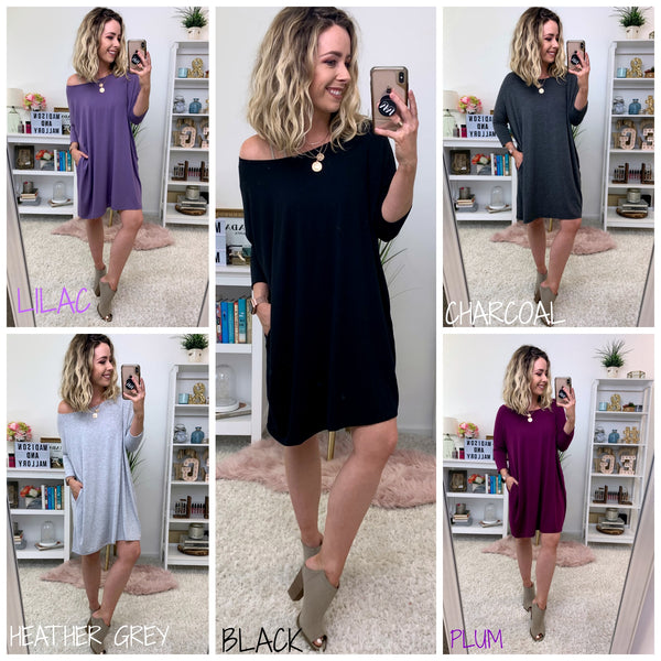 Brette Flowy Tunic Dress - Madison + Mallory