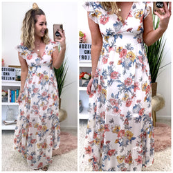 Capriccio Floral Maxi Dress - Madison + Mallory