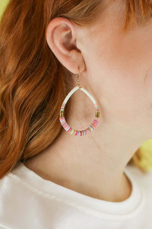 Multi Far Away Places Multi Color Beaded Earrings - Madison and Mallory