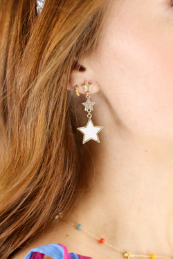 Dazzling Star Drop Earrings - Madison and Mallory