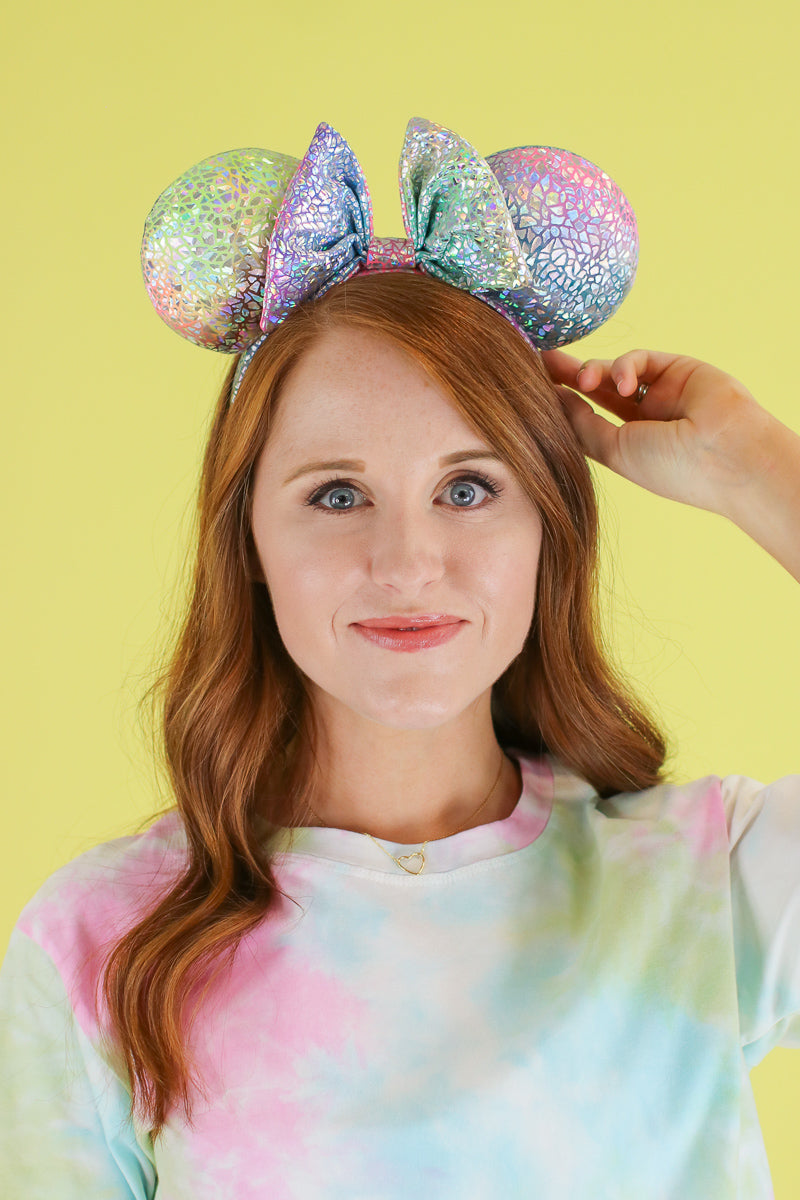 Spark a Dream Metallic Ears - Madison and Mallory