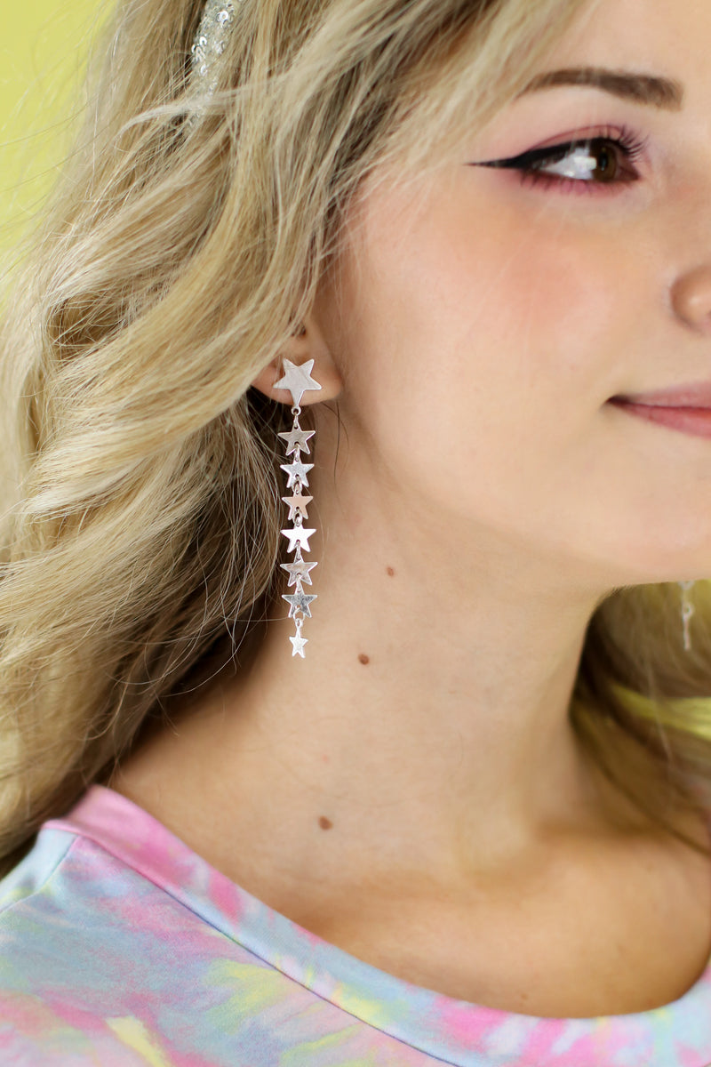 Look To The Sky Dangle Earrings - Madison and Mallory