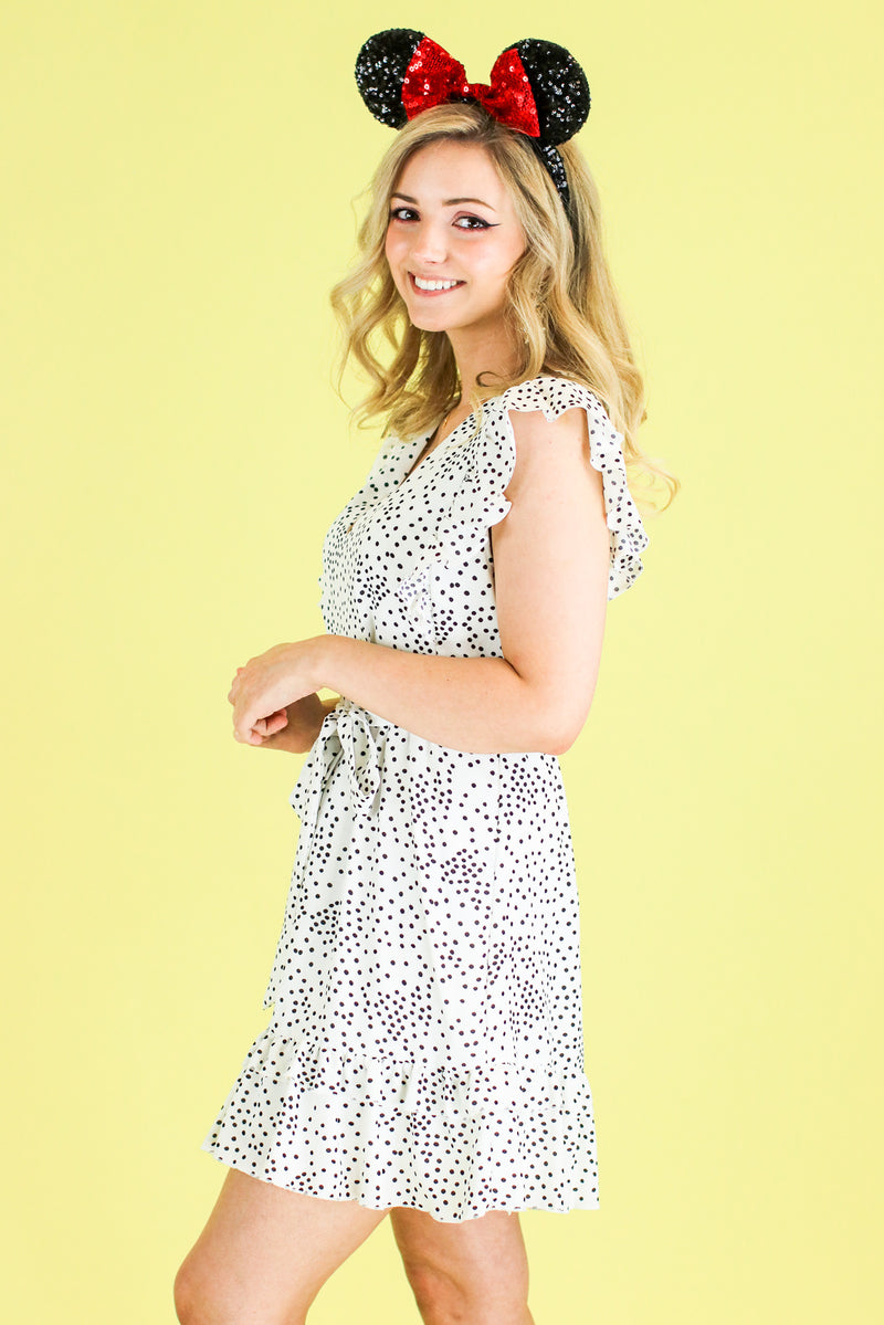 Spot in My Heart Polka Dot Dress - FINAL SALE - Madison and Mallory