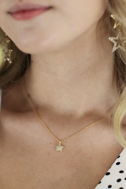 Gold Kingdom Far Far Away 14K Star Necklace - Madison and Mallory