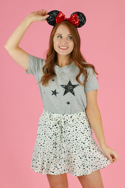 Dreamy Nights Star Graphic Top - Madison and Mallory