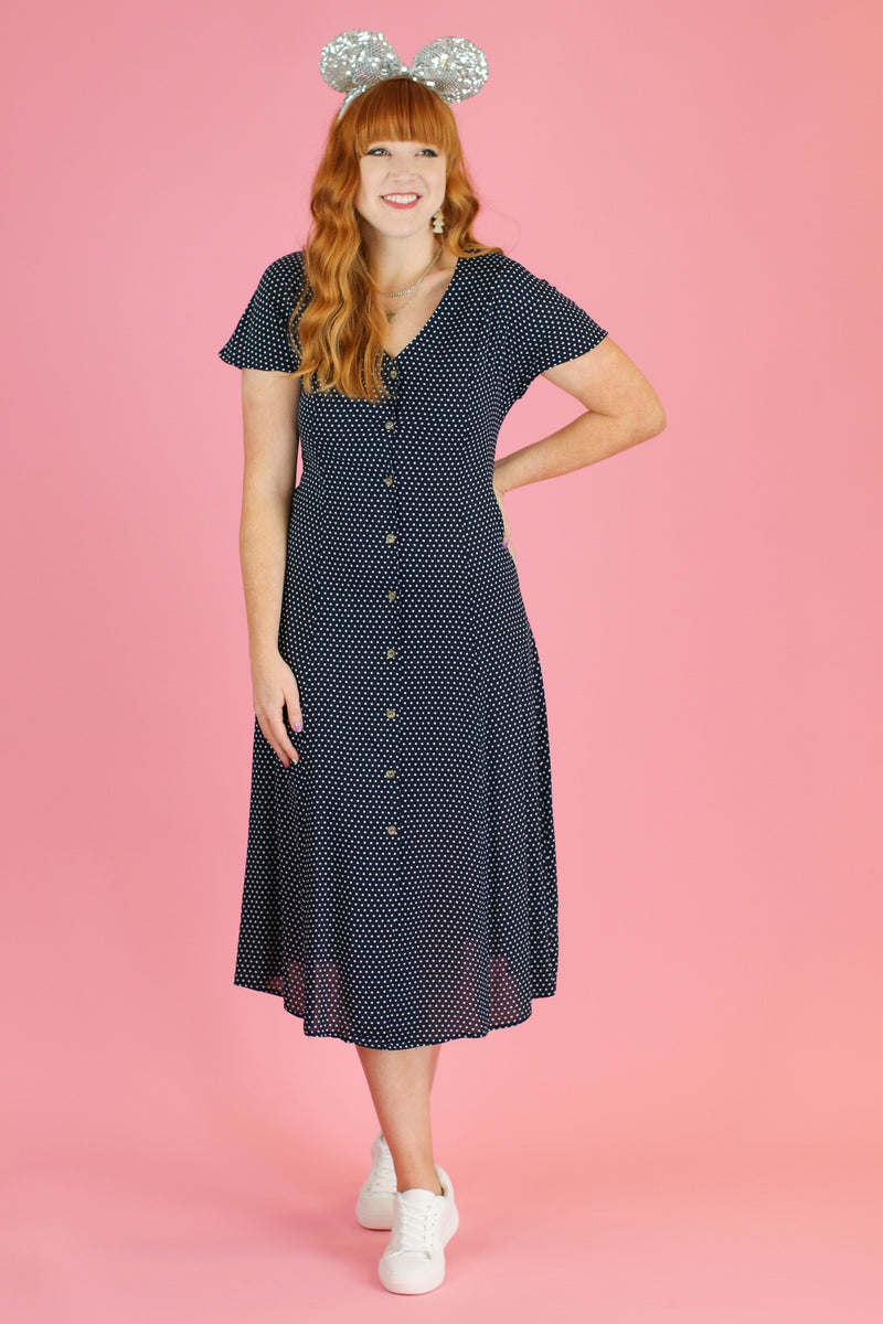Practically Perfect Polka Dot Dress - Madison and Mallory