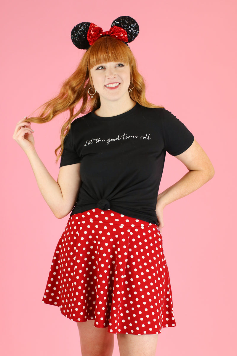 Let the Good Times Roll Graphic Top - FINAL SALE - Madison and Mallory