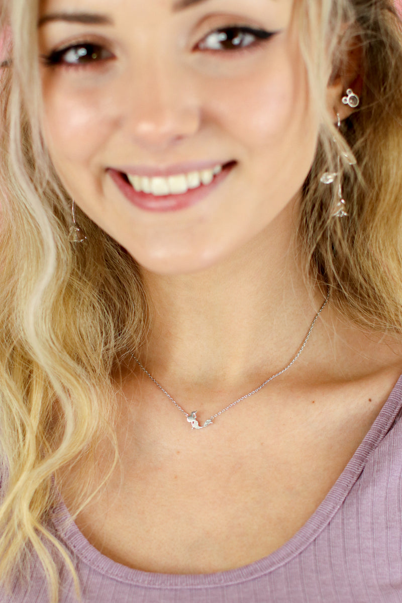 Mermaid Sighting Charm Necklace - Madison and Mallory