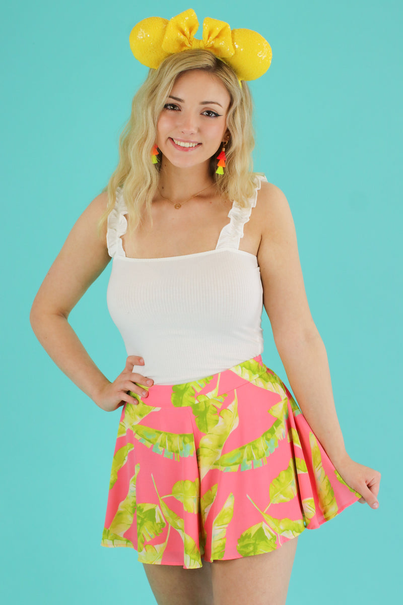 Truly Tropic Printed Shorts - Madison and Mallory