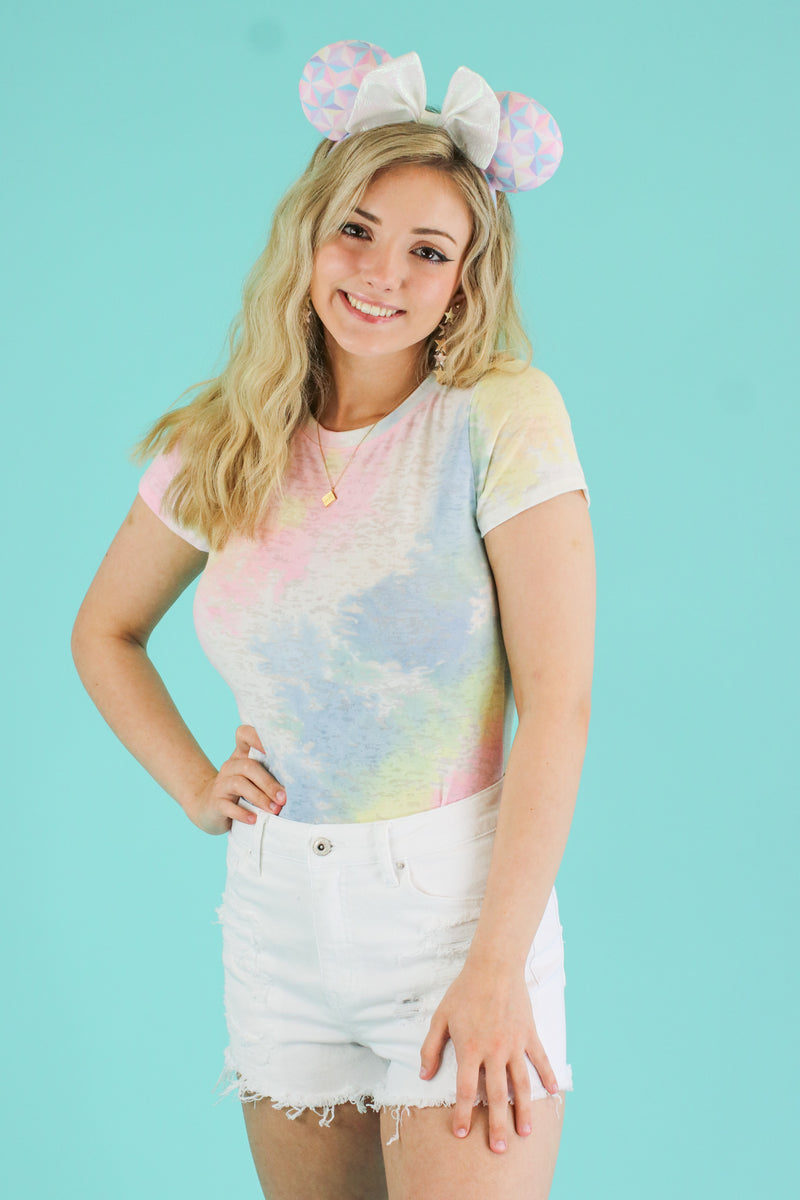 Color Your Life Tie Dye Bodysuit - Madison and Mallory