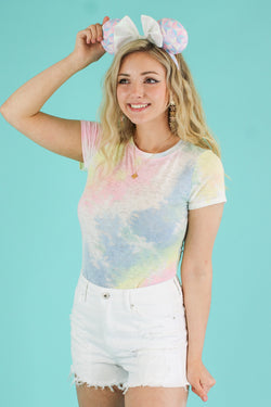 S / Multi Color Your Life Tie Dye Bodysuit - Madison and Mallory