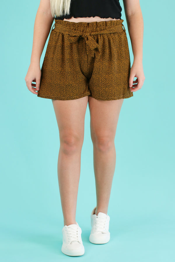 Shere Khan Tie Waist Shorts - FINAL SALE - Madison and Mallory