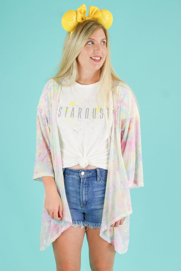 Stardust Graphic Top - FINAL SALE - Madison and Mallory