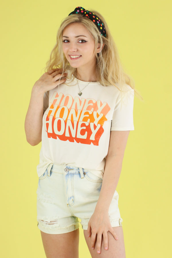 Honey Vintage Graphic Top - Madison and Mallory