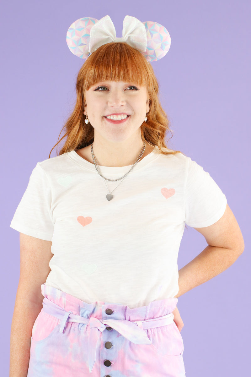 Tender Hearted Embroidered Top - FINAL SALE - Madison and Mallory
