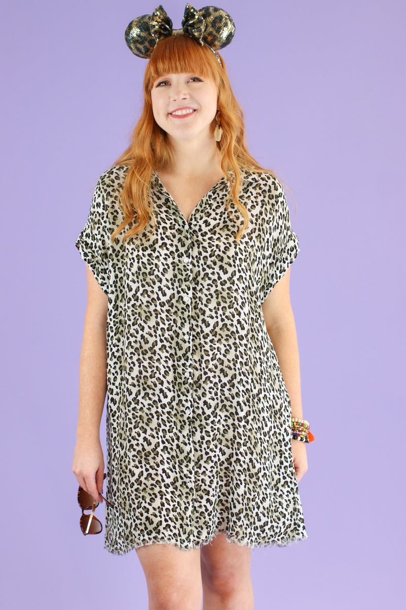 Breaking Wild Animal Print Dress | CURVE - Madison and Mallory