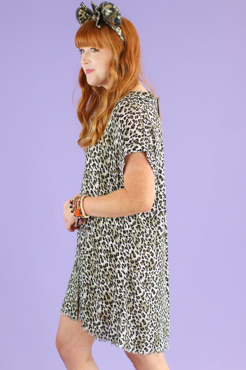 Breaking Wild Animal Print Dress | CURVE - FINAL SALE - Madison and Mallory