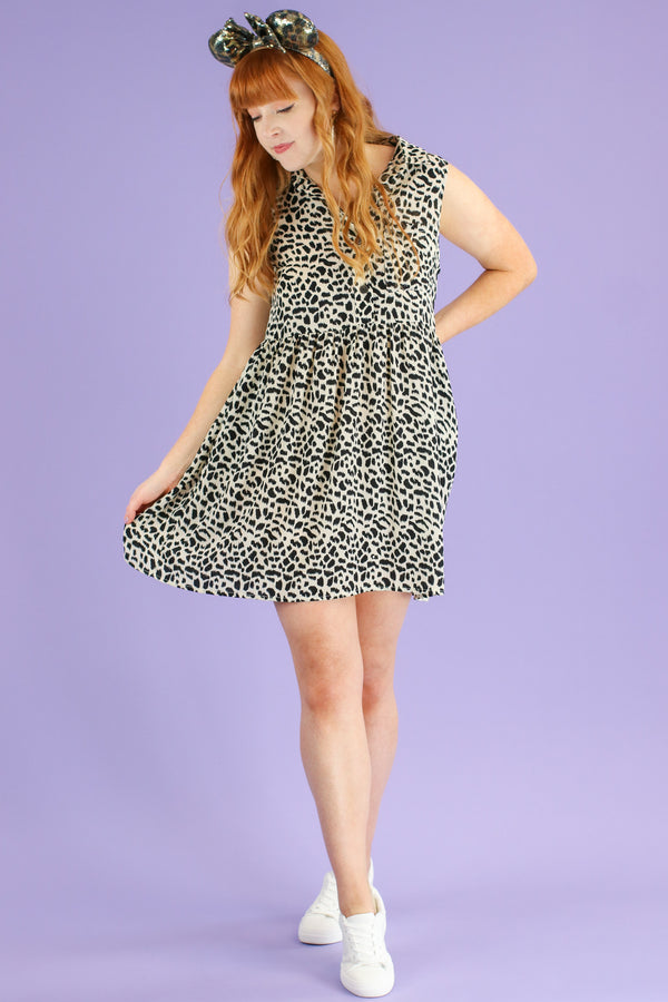Wild Pursuit Animal Print Dress | CURVE - FINAL SALE - Madison and Mallory