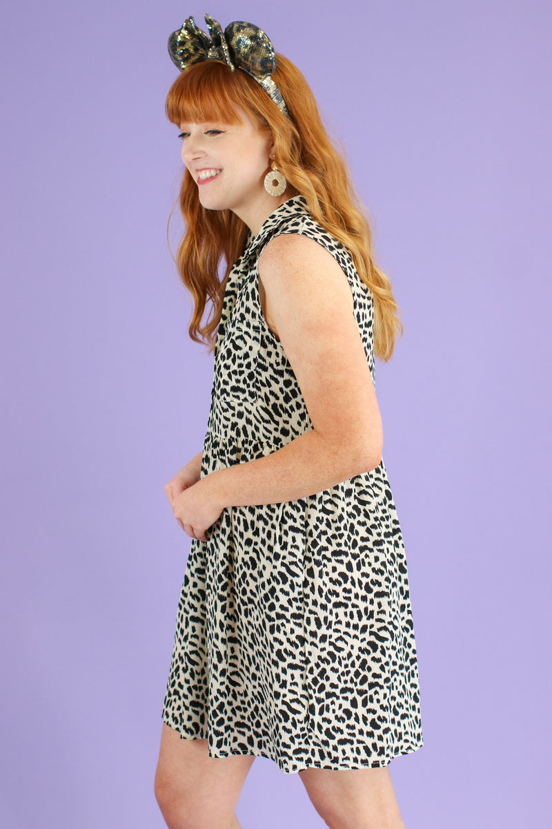 Wild Pursuit Animal Print Dress | CURVE - Madison and Mallory